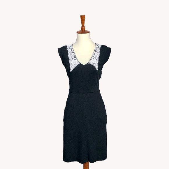 Modcloth Dresses & Skirts - Lace Collar Dress
